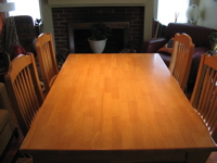 Old Dining Room Table